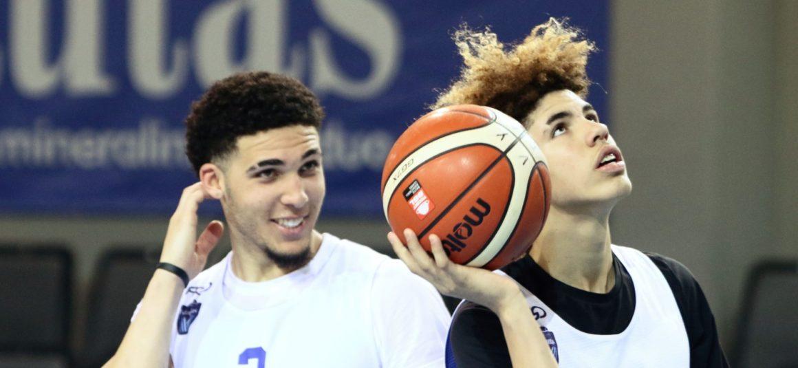 LaMelo Ball gets triple double, LiAngelo scores 44 in Vytautas win in London